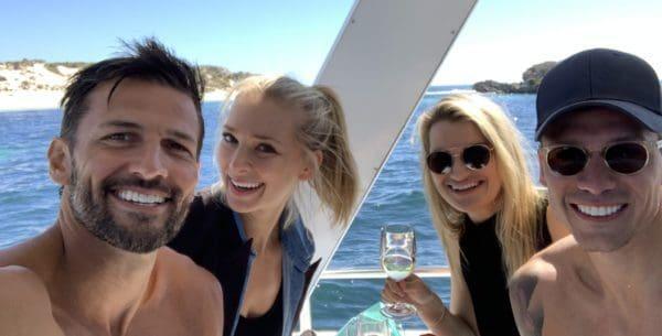 Lobster love for Bachelor stars, Tim & Anna