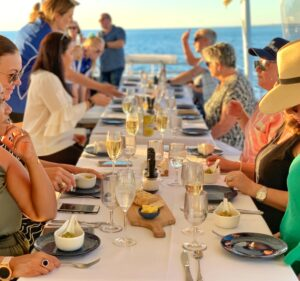 Cruise Guests Dining